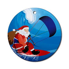 merry christmas kitesurfing costa rica