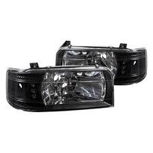 ford f150 headlight bulb 1996 ford f 150 custom factory headlights carid com