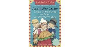 junie b grader turkeys we loved and eaten by barbara