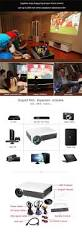 home theater projector systems htp 96 plus full hd tv led 3d projector 2800 lumens 1280x800 home
