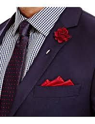 s burgundy silk flower lapel pin hawes and curtis