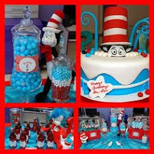 Cat In The Hat Table Centerpieces by Cat In The Hat Dr Seuss Theme Baby Shower With Red Licorice And