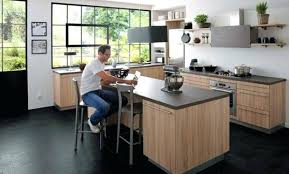 image ilot de cuisine ilot central prix modele de cuisine ouverte avec ilot pinacotech
