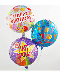 mylar balloons sweet deal on three mylar balloons happy birthday
