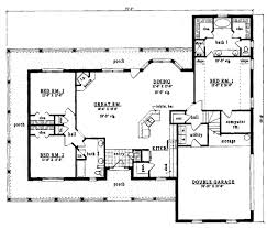 Country Farmhouse Floor Plans by Country Style House Plan 3 Beds 2 Baths 2075 Sq Ft Plan 42 178