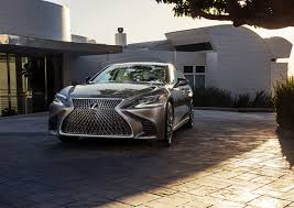 lexus convertible models 2018 2018 lexus ls 500 benchmarked the mercedes benz s class