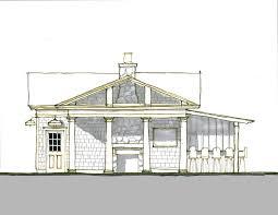 accessory house porch pool pool house millburn nj clawson architects