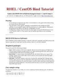Download Linux Dns Server Software by Centos Rhel 5 Bind9 Dns Server Guide Domain Name System
