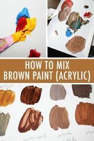 ink warrior painting skin tones using acrylic paint painting