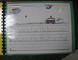 fire safety writing paper teaching learning loving memory book pics a sample of their writing has to go in their memory books i just love when we do sticker stories this sample was done in the fall during our