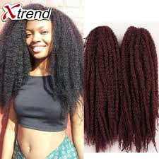 crochet marley hair 18 20roots afro crochet braids hair synthetic braiding