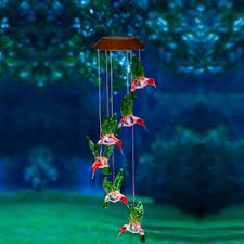 garden stakes wind chimes and bells lawn ornaments you ll