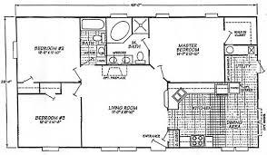 2 Bed 2 Bath House Plans Interesting Design 3 Bedroom 2 Bath House Bedroom Bath House Plan
