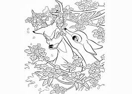 faline bambi coloring pages free coloring pages coloring