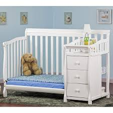 Convertible Baby Cribs With Drawers by Dream On Me Jayden 2 In 1 Convertible Baby Crib With Changer In