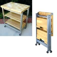 folding kitchen island cart fold away kitchen island meetmargoco pertaining to fold away