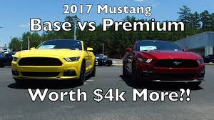 different mustang models mustang gt base vs gt premium what s different