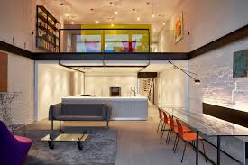 home design ideas a bright modern row house redone for a fun