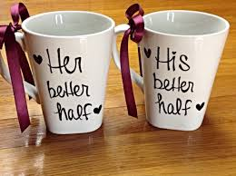his hers mugs and witty his and hers coffee mugs from etsy other