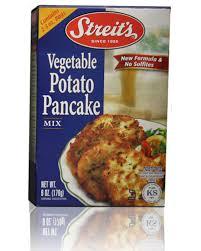 latke mix no salt potato pancake mix sulfite free streits matzos