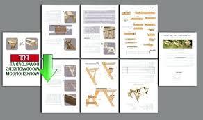 folding picnic table bench plans pdf convertible garden bench to picnic table exhort me