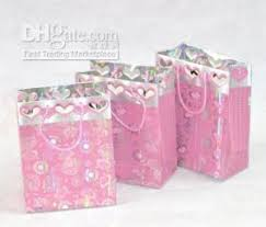 pink gift bags 12 pink heart paper gift bags w rope handle 14x7 5x18cm sheets of
