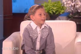 Business Kid Meme - ellen brought the yodelling kid from the meme on to her show where