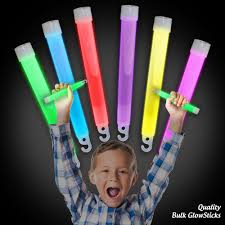 glow sticks in bulk unwrapped 6 inch 15mm diameter glowsticks with a hook and