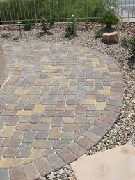 24x24 Patio Pavers by Pavers Las Vegas Parsons Rocks