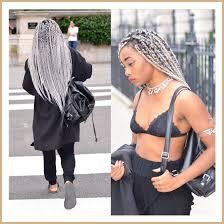 gray hair braided styles crochet hair google search style on the brain pinterest