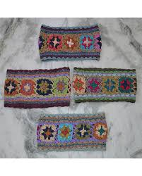 crochet hair bands nepalese crochet cotton bands himalayan exports