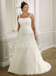 discount plus size wedding dresses size chiffon satin sleeveless strapless a line clearance