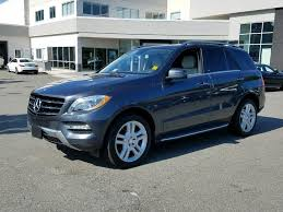 2013 mercedes 350 suv pre owned 2013 mercedes m class ml 350 suv in richmond
