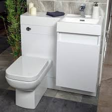 Vanity Toilet Units Summers 900 Wc And Vanity Combination Unit Gloss White Right