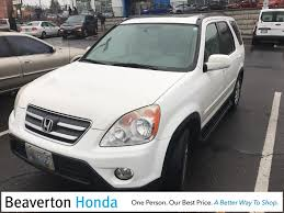 2001 Honda Crv Roof Rack by Used Honda Cr V For Sale In Vancouver Wa Edmunds