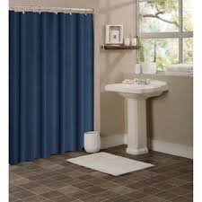 Shower Curtain Blue Brown Dainty Home Hotel Collection Waffle Shower Curtain Free Shipping