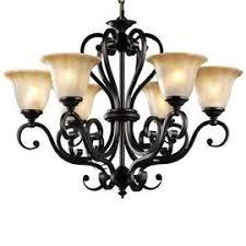 Antique Black Chandelier Traditional Lighting