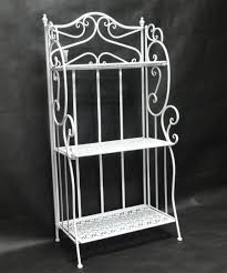 White Bakers Rack White Plant Stand Outdoor Bakers Rack Plant Stand Popular