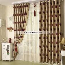 Burgundy Curtains For Living Room Beige And Burgundy Curtains 4873