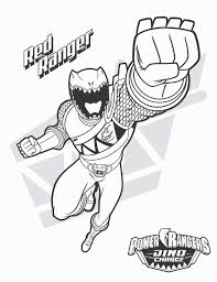 mighty morphin power rangers coloring pages red ranger virtren com
