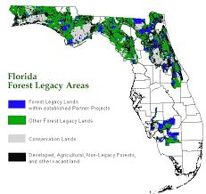 Florida forest images Florida forest legacy areas map florida forest legacy program gif