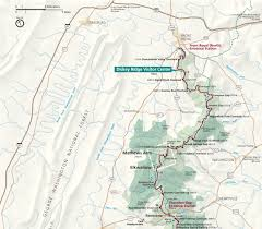 Maps Virginia by Maps Shenandoah National Park U S National Park Service