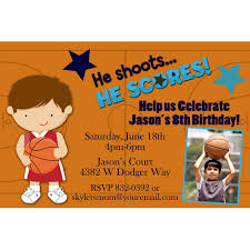 basketball birthday invitations u2013 unitedarmy info
