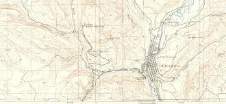 Durango Colorado Map by Durango History Via Topo Maps