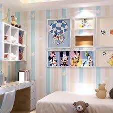 chambre d enfant bleu chambre d enfants princesse chambre non tissé papier peint bleu
