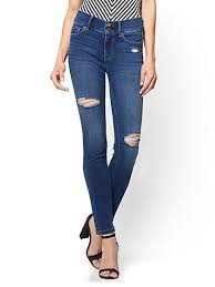 Destroyed High Waisted Jeans Tall Jeans For Women New York U0026 Company Free Shipping