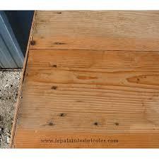 plateau de cuisine bureau ou table de cuisine en bois taupe à plateau laissé brut