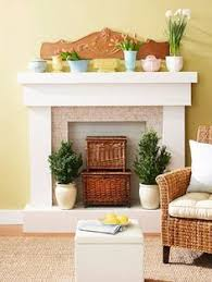 How To Decorate A Non Working Fireplace Creative Ways To Decorate A Non Working Fireplace Apt