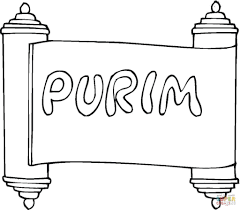purim coloring page free printable coloring pages purim pictures
