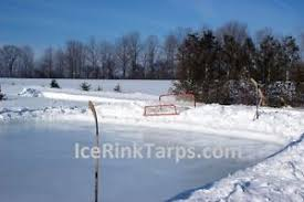 Hockey Rink In Backyard by Ice Rink Liner Medium Duty 25ft X 45ft Backyard Hockey Ice Rink